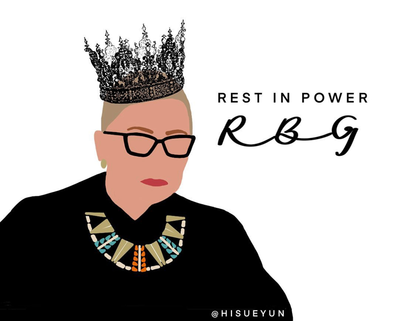 Ruth Bader Ginsburg, Rest in Power