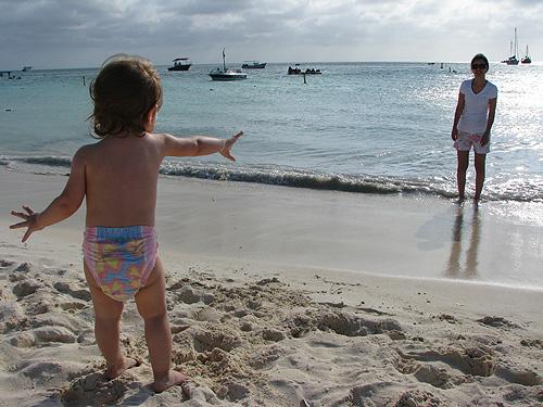 Julia em Aruba