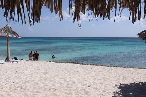 Boca Catalina em Aruba, fora da região dos hotéis - Aruba ou Punta Cana?