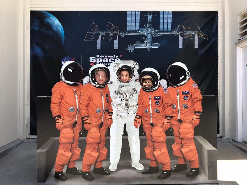 Meus astronautas na NASA