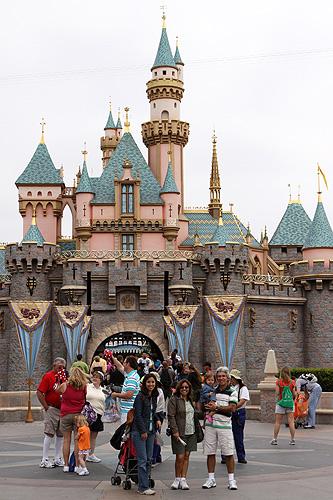 Nós na Disneyland Califórnia
