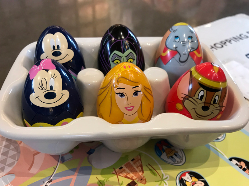 Os ovos de Páscoa pra escolher no Epcot esse ano
