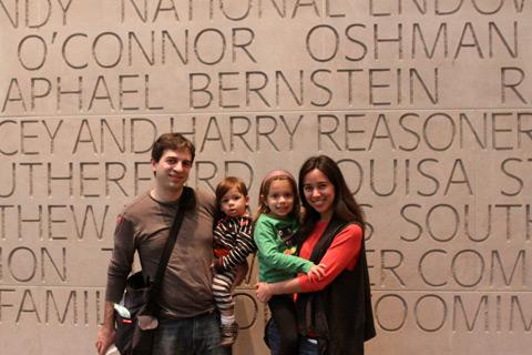 Nós no Museum of FIne Arts, Houston, fevereiro de 2013