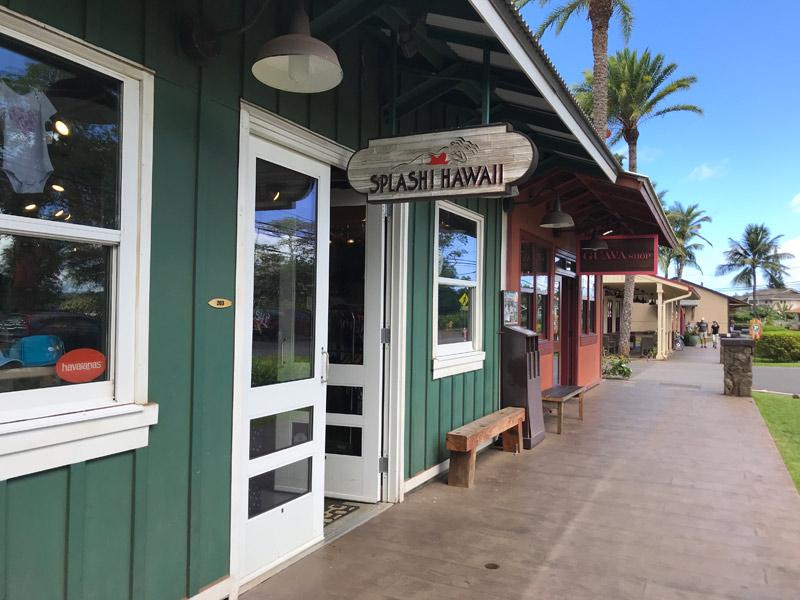 Lojas em Haleiwa no North Shore, em Oahu