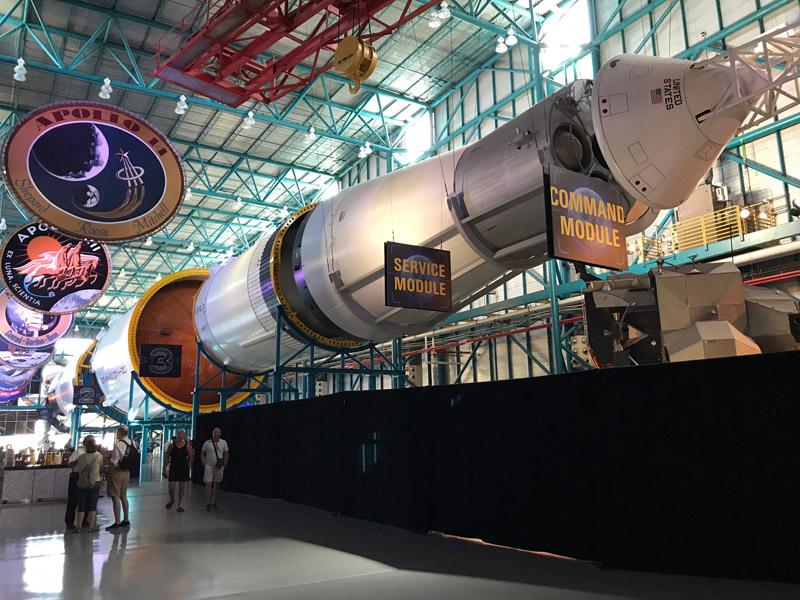 O incrível foguete Saturn V na NASA