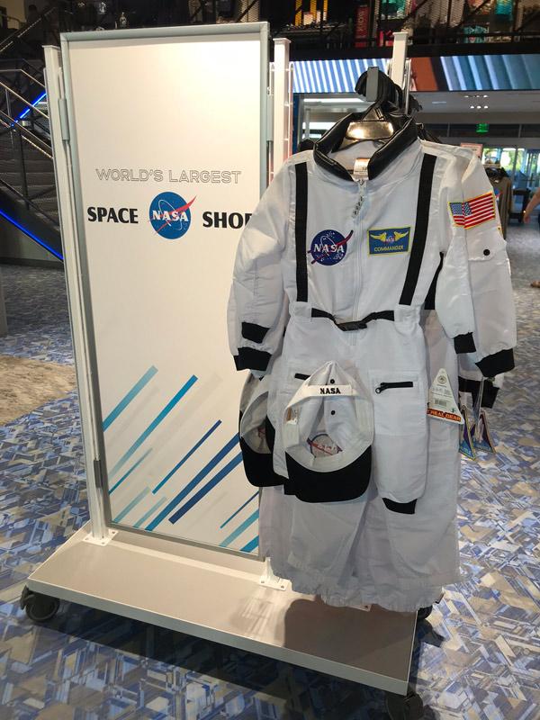 Roupa de astronauta infantil na NASA