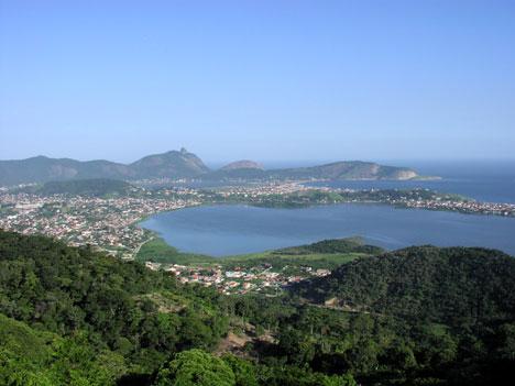 Vista da Região Oceânica de Niterói do Parque da Cidade