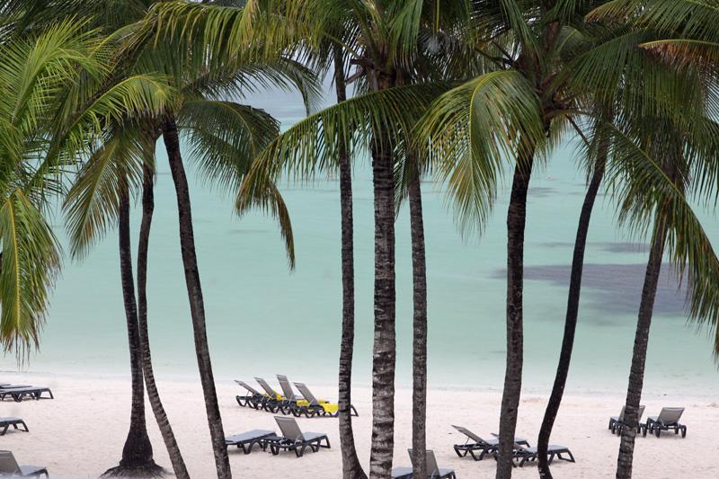 Praia de Bávaro em Punta Cana, vista da nossa varanda